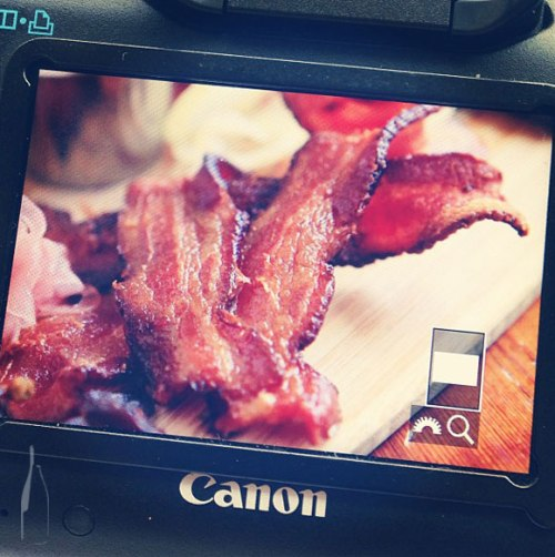 We're on a bacon kick, thanks paleo!